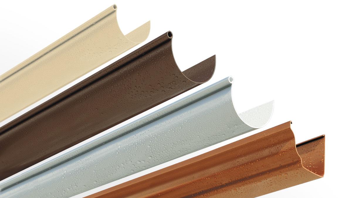 PVC Rain Gutters