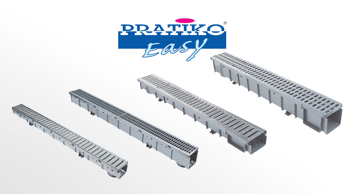 PP Drainage Channels PRATIKO-Easy