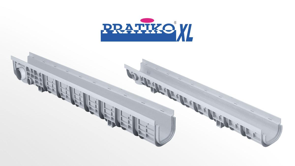 PP Drainage Channels PRATIKO-XL