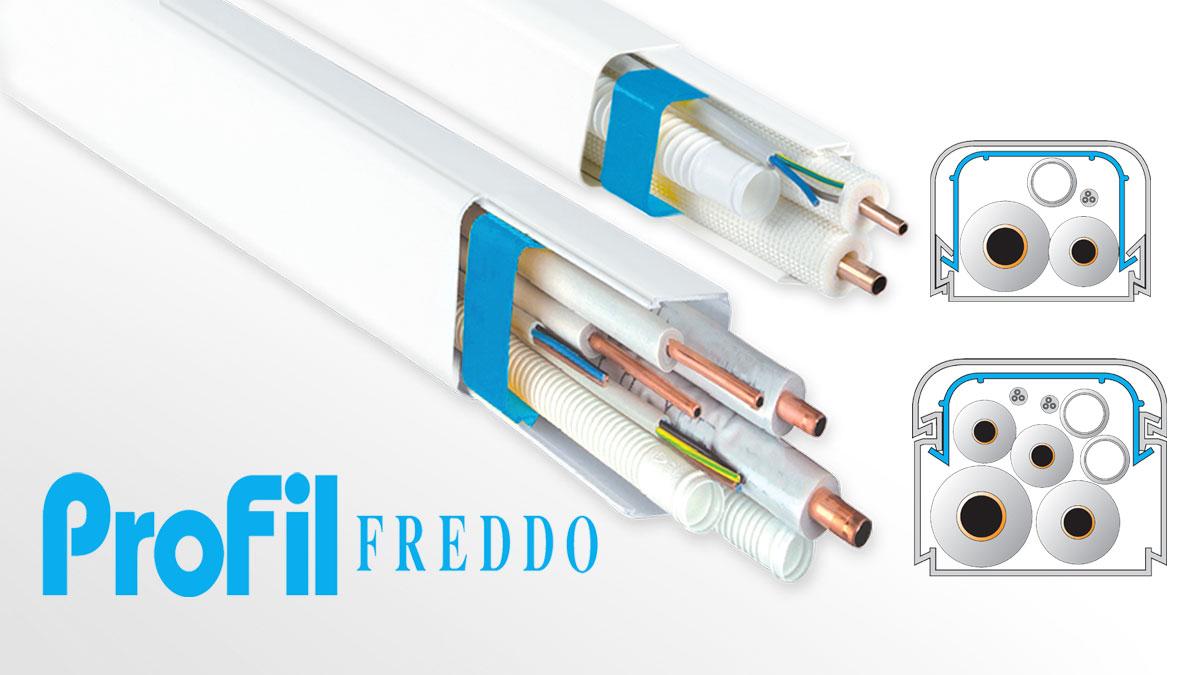 Split connection system ProfilFREDDO