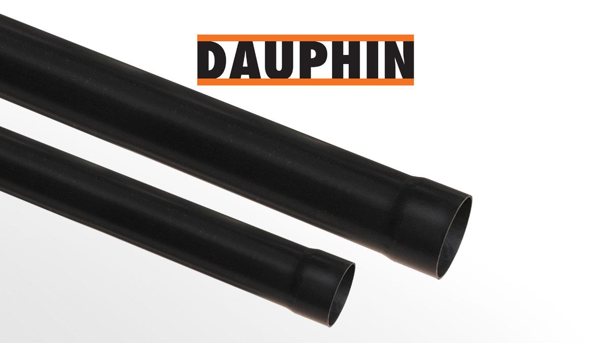 DAUPHIN PVC terminal anti-shock pipes